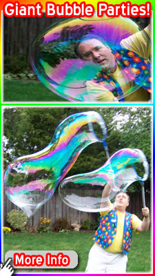 Giant Bubble Parties